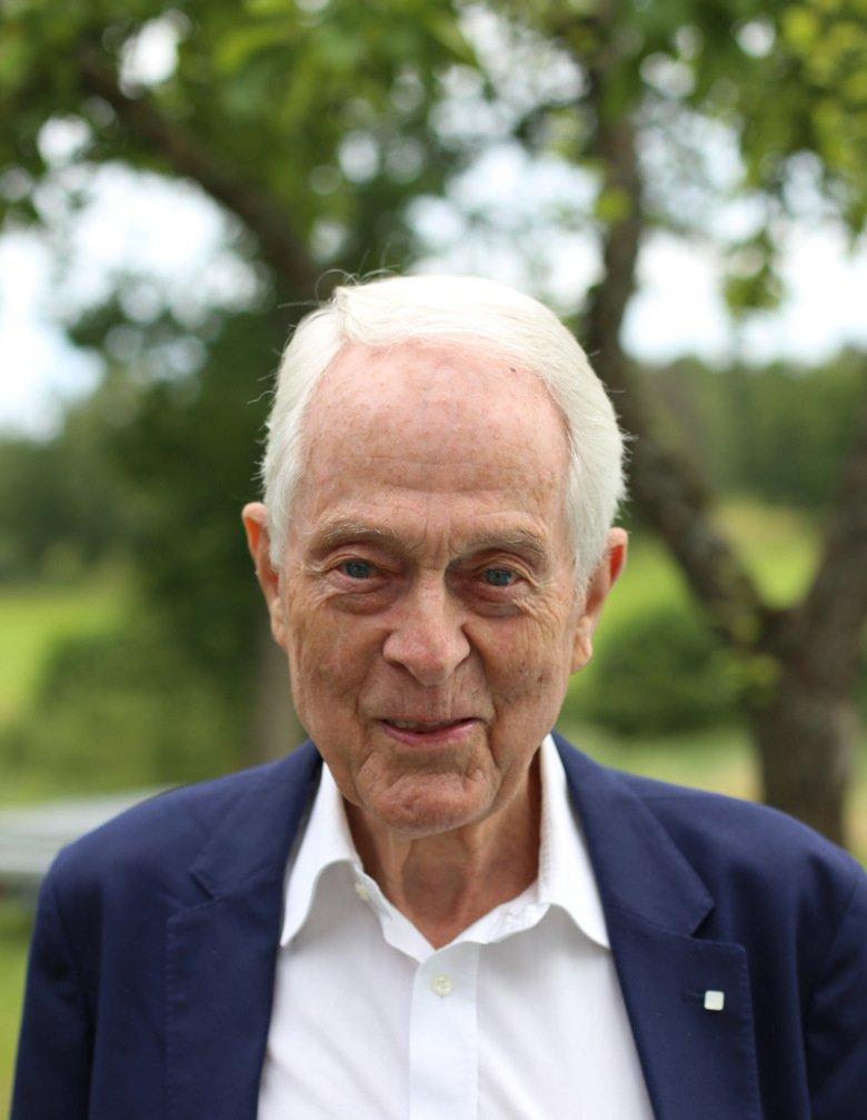 Gunnar Grant, professor emeritus vid institutionen för neurovetenskap