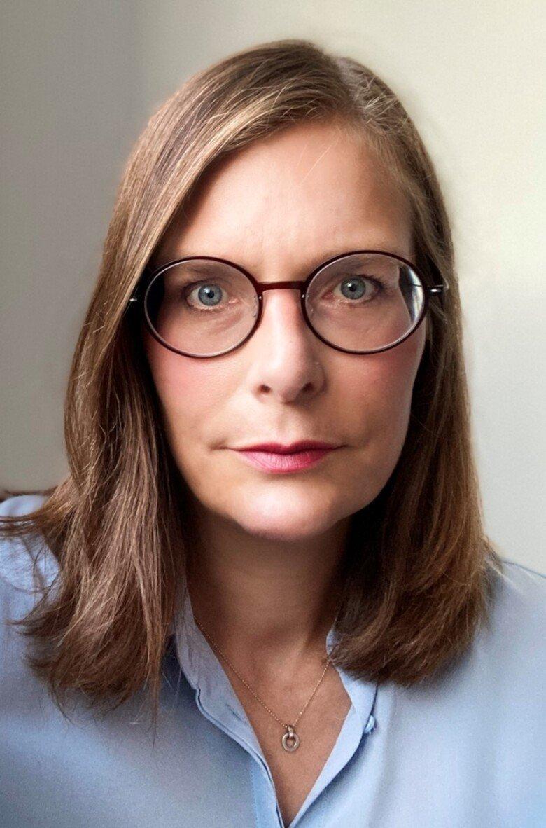 Porträtt av Maria Helde Frankling.