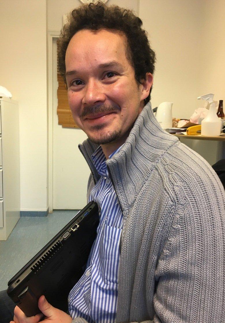 Forskaren Oscar Bedoya Reina.