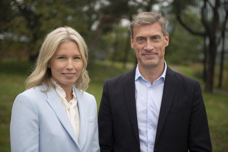 Emma Svennberg och Johan Engdahl, forskare vid Karolinska Institutet.