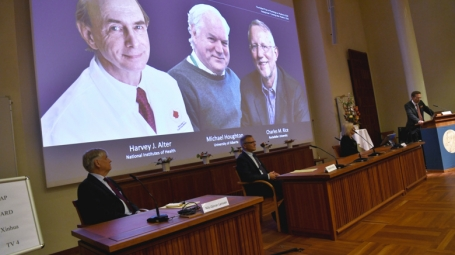 The Nobel Prize in Physiology or Medicine 2020 to Harvey J. Alter, Michael Houghton and Charles M. Rice
